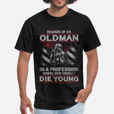 Spartans Warrior - In a profession where men die young - Men's T-Shirt