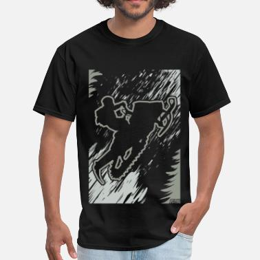 Polaris Snowmobiling Forest Run - Men's T-Shirt
