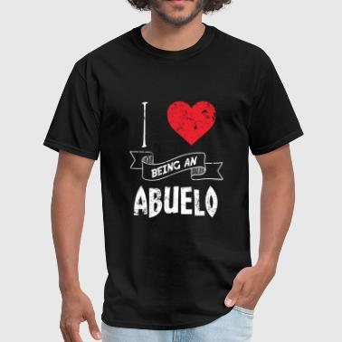 I Love Spanish I Love Being An Abuelo Spanish - Men's T-Shirt