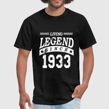 Grandpa Grandma Birthday Grandpa 1933 - Men's T-Shirt