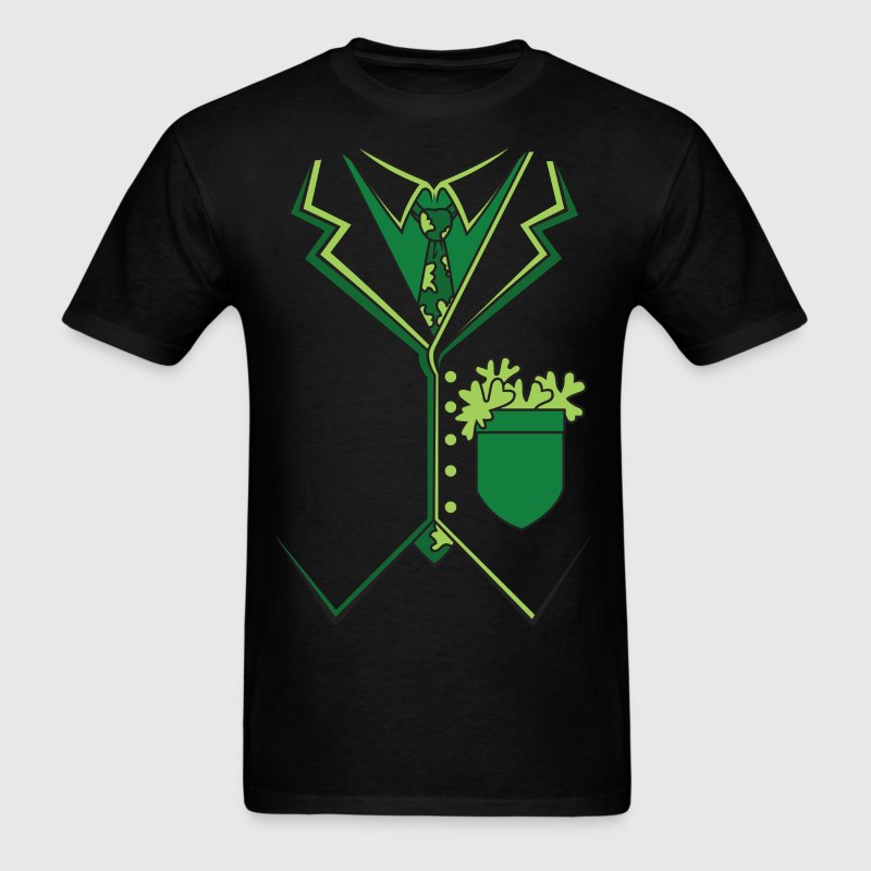 Irish Tuxedo Suit T-Shirt - Men's T-Shirt