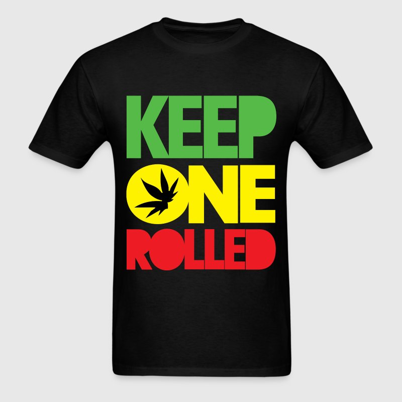 keep_one_rolled - Men's T-Shirt