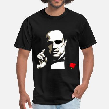 Godfather Funny Marlon Brando - Men's T-Shirt
