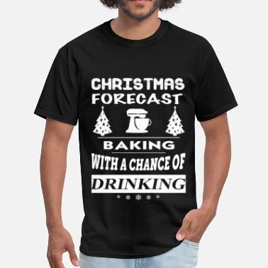 Bakery Miscellaneous Baking - Christmas forecast awesome sweater - Men's T-Shirt