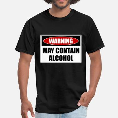Alcohol May Contain Alcohol - Men's T-Shirt