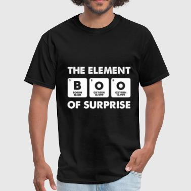 Surprise Element Of Surprise - Halloween Chemistry Teacher - Men's T-Shirt