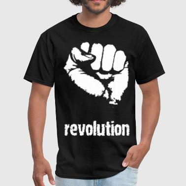 Revolutionary fist - Men's T-Shirt