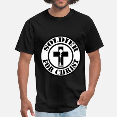 Soldier Of Jesus Christ Soldier for Christ - Men's T-Shirt