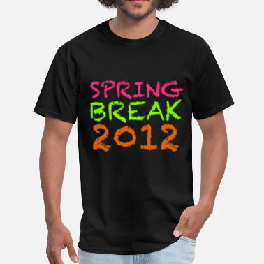 Summer Design Spring Break Spring Break 2012 Design - Men's T-Shirt