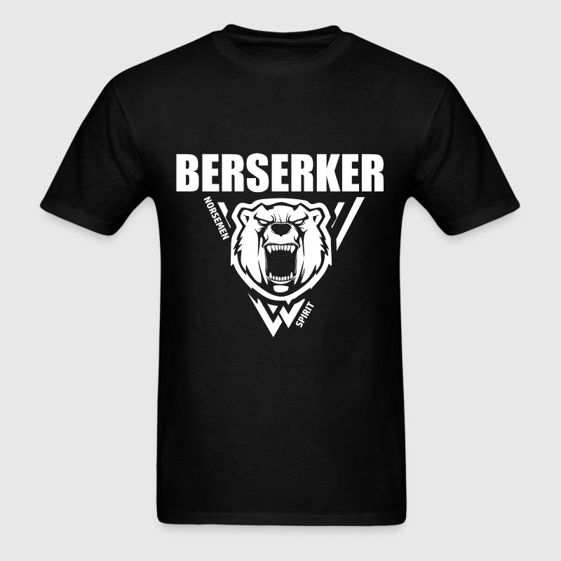 Berserker Vikings White - Men's T-Shirt