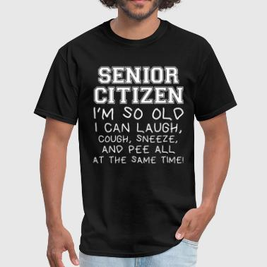 Class Of Senior 2017 Funny Senior Citizen Grandma Grandpa Grandma Gift - Men's T-Shirt