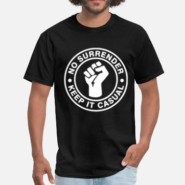 70 80 90 No Surrender Keep It Casual Culture 70s 80s 90s Te - Men's T-Shirt