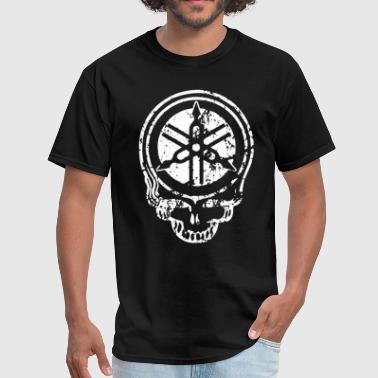YAMAHA SKULL MOTORCYCLE FREE SHIPPING Motorcycle - Men's T-Shirt