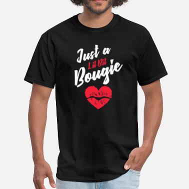Bougie Just a Lil Bit Bougie - Men's T-Shirt