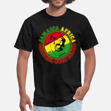 Reggae Music jamaica africa origina good sound - Men's T-Shirt