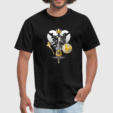 (Kingdom Hearts) All for One and One for All Silve - Men's T-Shirt