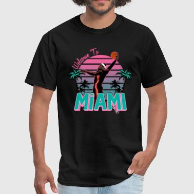 South Beach welcome_to_miami_sb_rb - Men's T-Shirt