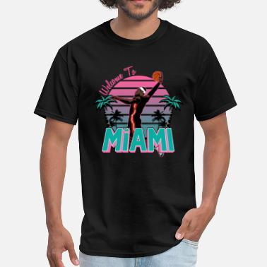 South welcome_to_miami_sb_rb - Men's T-Shirt