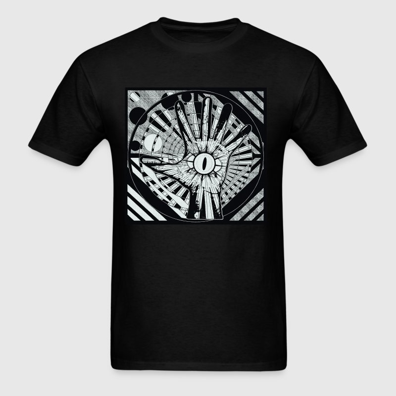 LIGHT OF THE LIZARD HAND 9 - Men's T-Shirt