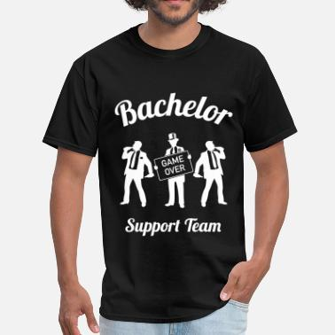 e1c95f68ec Bachelor Party Bachelor Game Over Support Team (Stag Party   1C) - Men  . Men s  T-Shirt