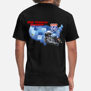 Old Timer Old Timers Cruzin Motorcycle - Men's T-Shirt