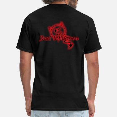 Bad Devil Bad Influence Lil Devil - Men's T-Shirt