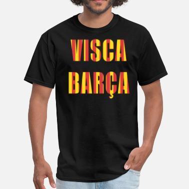 Fc Barcelona Visca Barca FC Barcelona shirt - Men  39 s ... ab38ad0a21d9