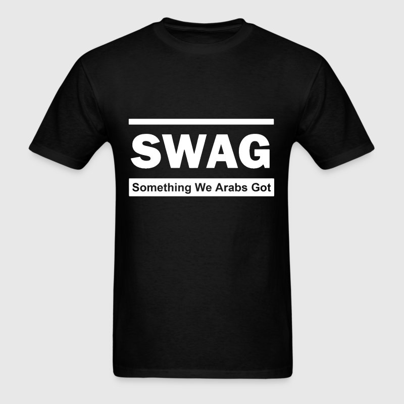 Swag (Something We Arabs Got) - Men's T-Shirt