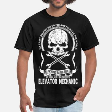 Elevator Elevator Mechanic - Men's T-Shirt