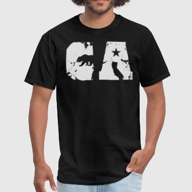 California Bear State Abbreviation - Men's T-Shirt