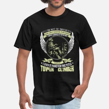 Climber Tower Climber Shirt - Men's T-Shirt