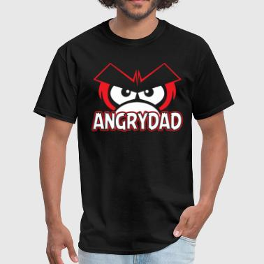 Angry Laugh Angry Dad - Men's T-Shirt