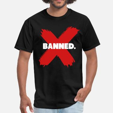 Banned Banned Retro 1 Jordan Shirt - Men's T-Shirt