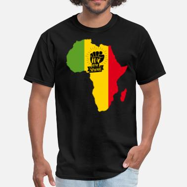 Reggae Jamaica Power Africa black power - Men's T-Shirt