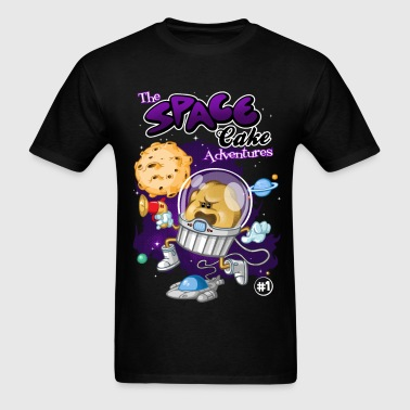 Space cake - Men's T-Shirt