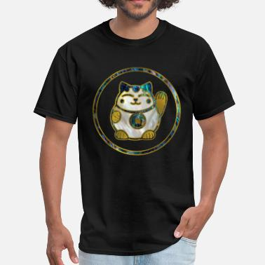 Neko Maneki Neko Lucky cat - Men's T-Shirt