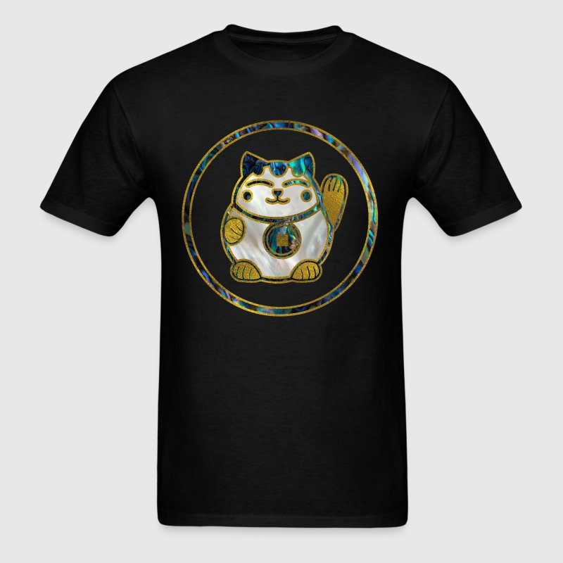 Maneki Neko Lucky cat - Men's T-Shirt