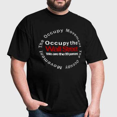 Occupy the Wall Street Movement black - Men's T-Shirt