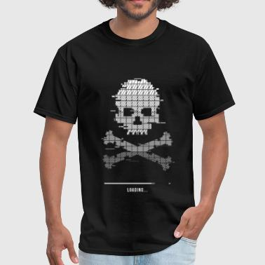 8bit Game Over Game over Loading Glitch 8bit - Men's T-Shirt