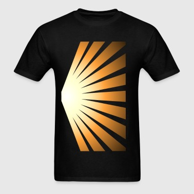 Golden Rays - Men's T-Shirt