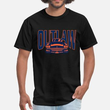 I Love Chicago Outlaw - Men's T-Shirt