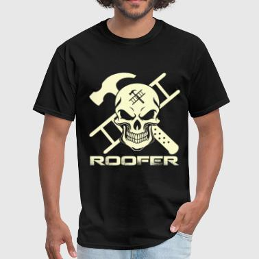 Roofers Hammer T-shirt for Roofer - Ladder and hammer - Men's T-Shirt