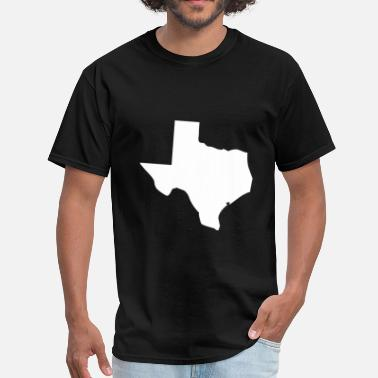 I Love Texas I Love Texas (white) - Men's T-Shirt