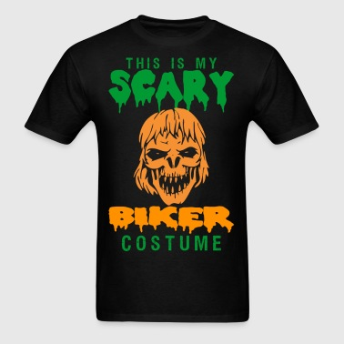 This Is My Scary Biker Costume - Men's T-Shirt