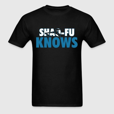 Shaq Fu Knows Graphic - Men's T-Shirt