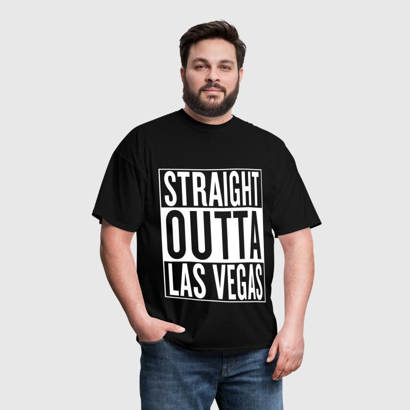 straight outta Las Vegas - Men's T-Shirt