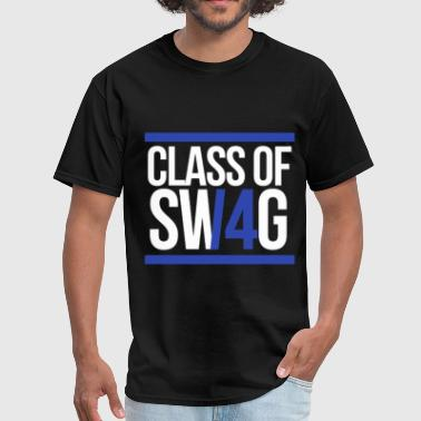 Class Of 14 CLASS OF SWAG/14 (BLUE WITH BANDS)  - Men's T-Shirt
