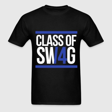 CLASS OF SWAG/14 (BLUE WITH BANDS)  - Men's T-Shirt