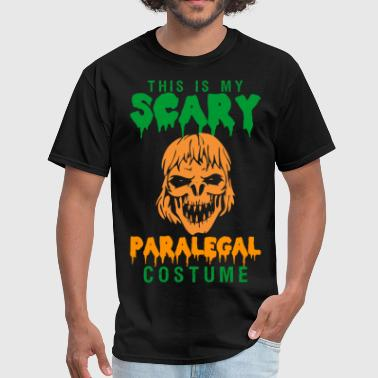 This Is My Scary Paralegal Costume - Men's T-Shirt