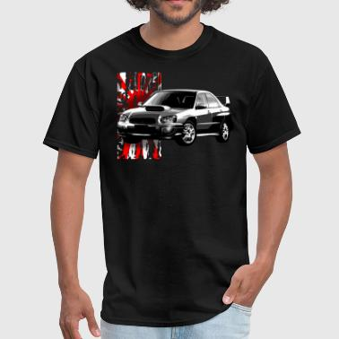 Wrx Impreza Tear it up - Men's T-Shirt